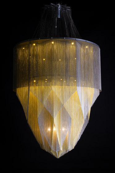 Crystal Mandala - 1000 S by Willowlamp   Suspended lights