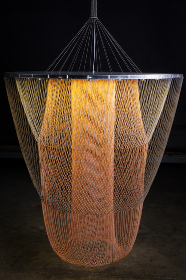 Halo - 1000 S by Willowlamp   Suspended lights