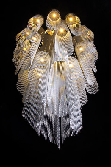 Windchime - 700 S by Willowlamp   Suspended lights