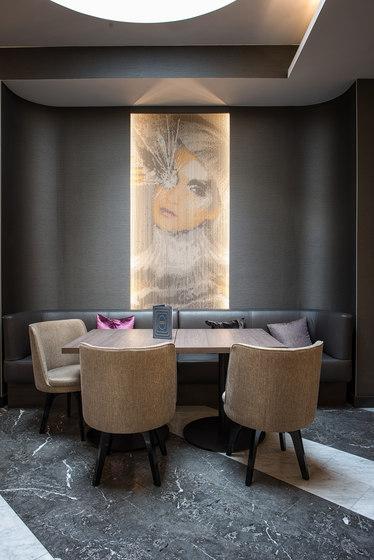 Wallcovering Fixed Hotel di Kriskadecor | Tele metallo