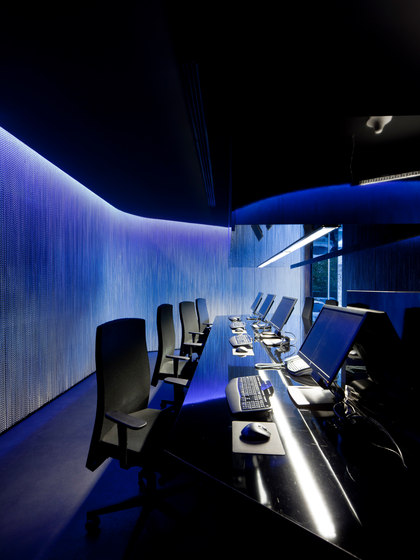 Wallcovering Office by Kriskadecor | Metal meshes