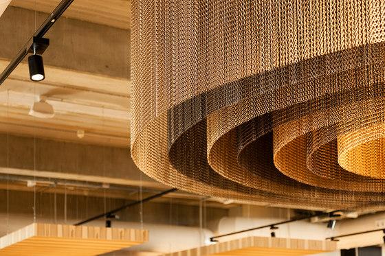 Ceilings by Kriskadecor | Metal meshes