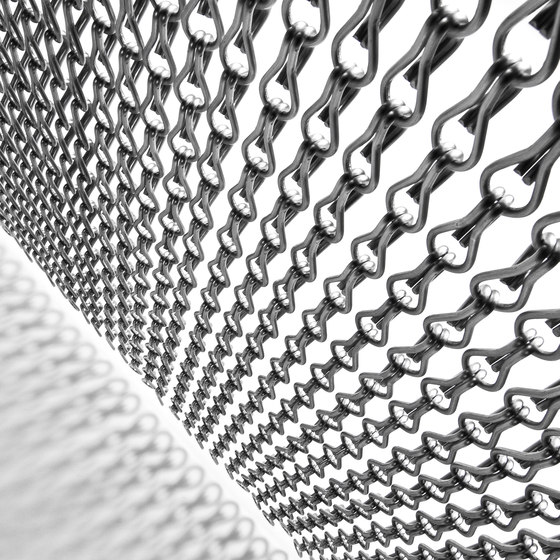 Ceiling Rainy Effect by Kriskadecor | Metal meshes