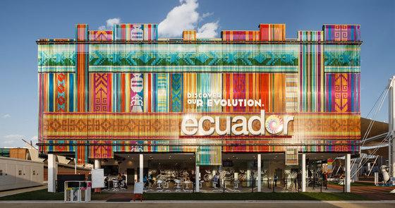 Cladding Exterior Pavilion by Kriskadecor   Metal meshes