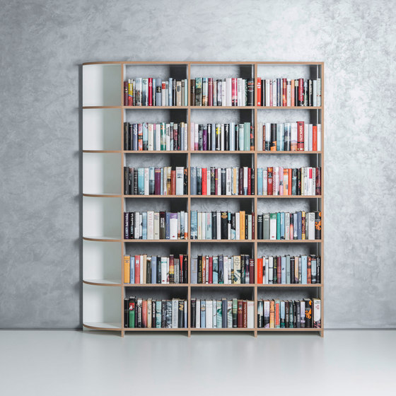 Classic shelf-system by mocoba | Shelving