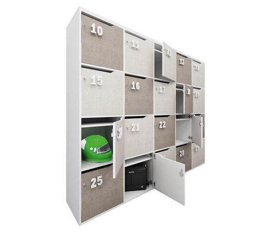 STILO lockers di IVM | Armadietti