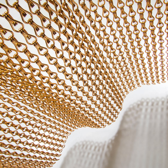 Special Structures Haima by Kriskadecor | Metal weaves / meshs