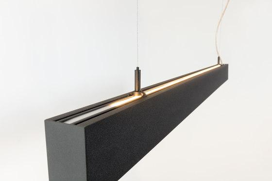 Esseldi suspension LED up/down GI di Modular Lighting Instruments | Lampade sospensione