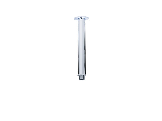 Contemporary | Round shower arm, vertical, 170mm by rvb | Shower controls