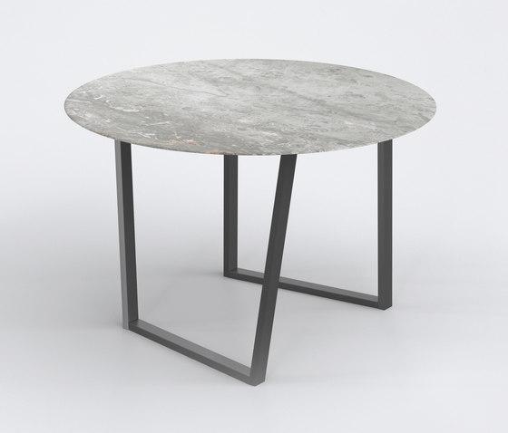 Dritto Dining Table Ø 120 cm von Salvatori   Esstische