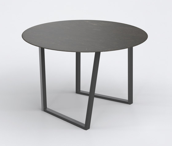Dritto Dining Table Ø 120 cm von Salvatori | Esstische