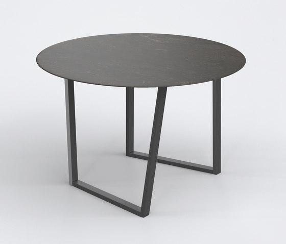 Dritto Dining Table Ø 120 cm de Salvatori | Mesas comedor