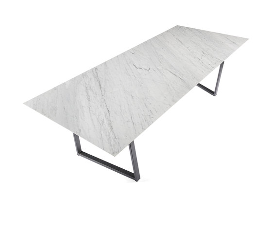 Dritto Dining Table 250 x 110 cm de Salvatori | Tables de repas