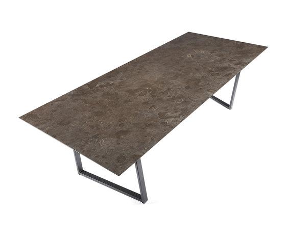 Dritto Dining Table 250 x 110 cm von Salvatori | Esstische