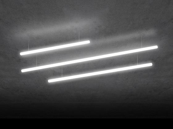 Alphabet of light Linear 120,180, 240 de Artemide Architectural   Suspensions