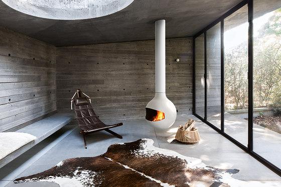 Bathycafocus White by Focus | Open fireplaces
