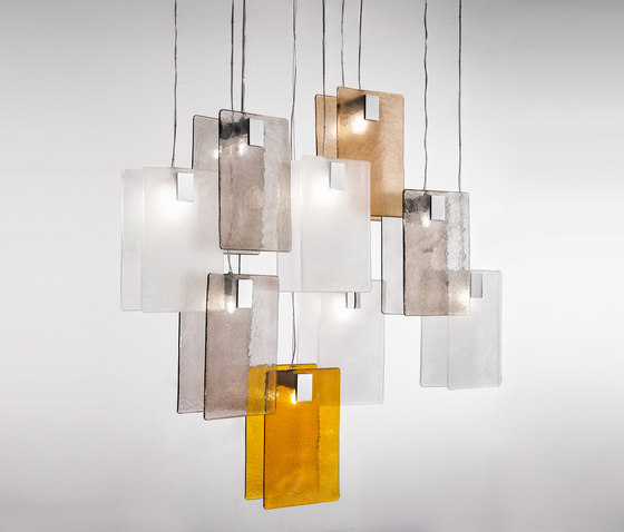 MURA SUSPENSION by ITALAMP | Suspended lights