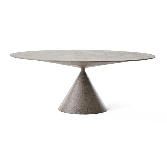 Clay ovale mesa de Desalto | Mesas comedor
