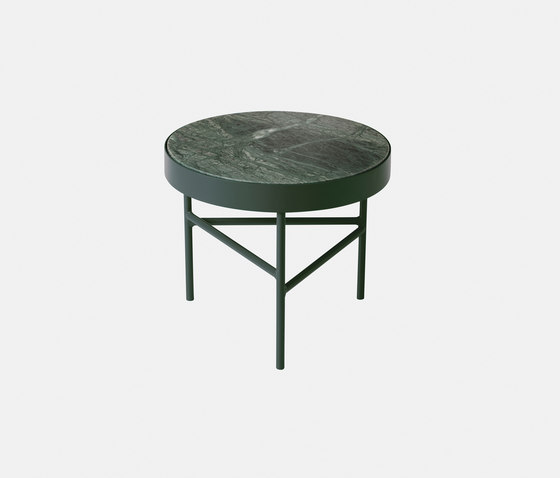 Marble Table - Indian Green - Small di ferm LIVING | Tavolini alti