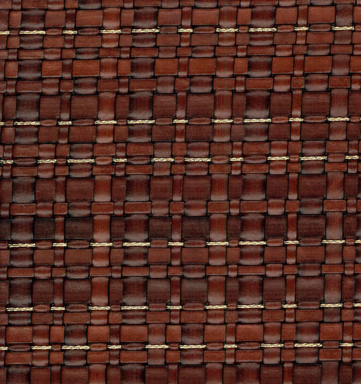 Scris Cm 135 | Woven Leather And Copper by MD – OXILLA | Metal meshes