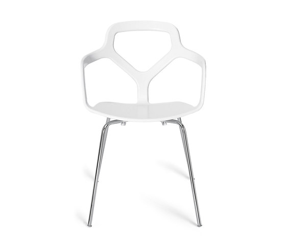 Trace chair by Desalto | Visitors chairs / Side chairs