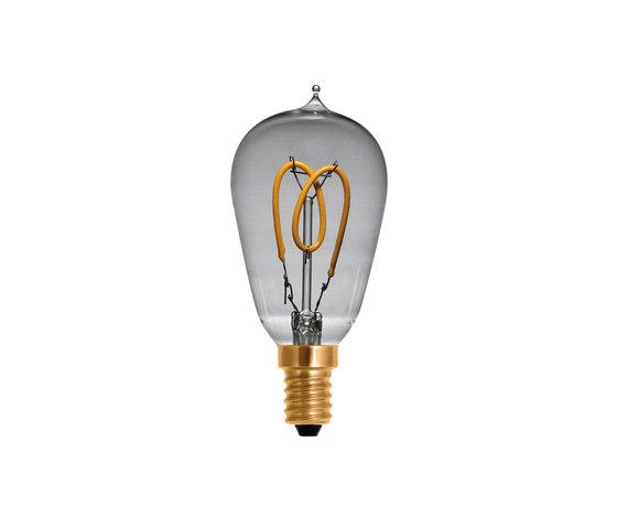 LED Drop Lamp Curved clear de Segula   Ampoules