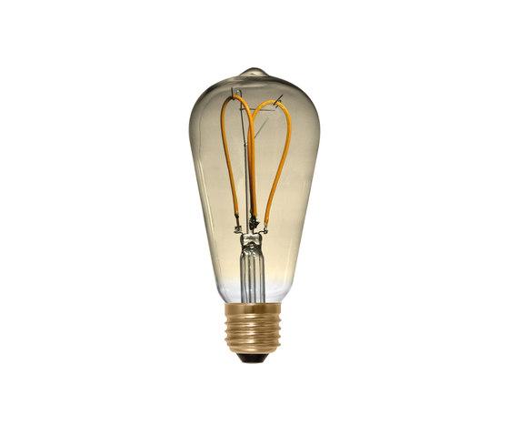 LED Rustica Curved Loop golden de Segula | Ampoules
