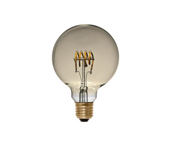 LED Globe 95 Curved golden de Segula | Ampoules