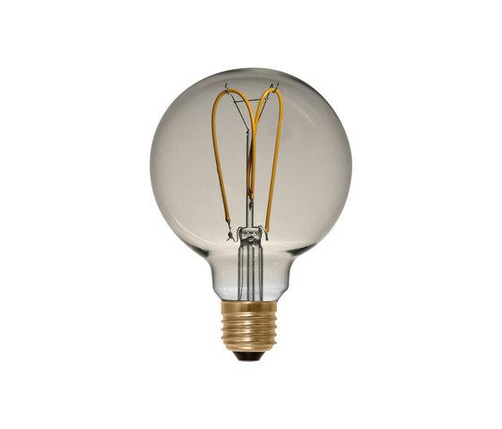 LED Globe 125 Curved golden by Segula | Light bulbs