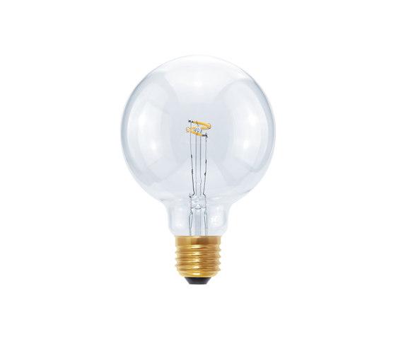 LED Globe 95 Curved Point clear by Segula | Light bulbs