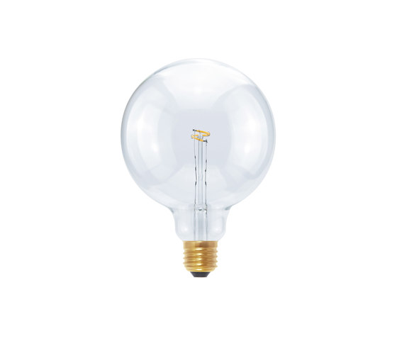 LED Globe 125 Curved Point clear by Segula | Light bulbs