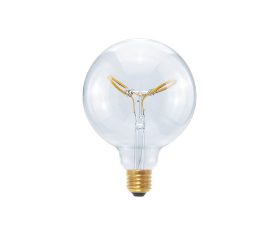 LED Globe 125 Curved Butterfly clear by Segula | Light bulbs
