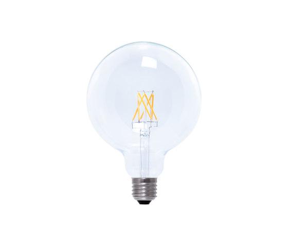 LED Globe 125 clear by Segula | Light bulbs