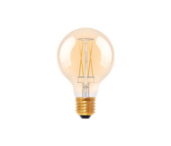 LED Globe 80 golden by Segula | Light bulbs
