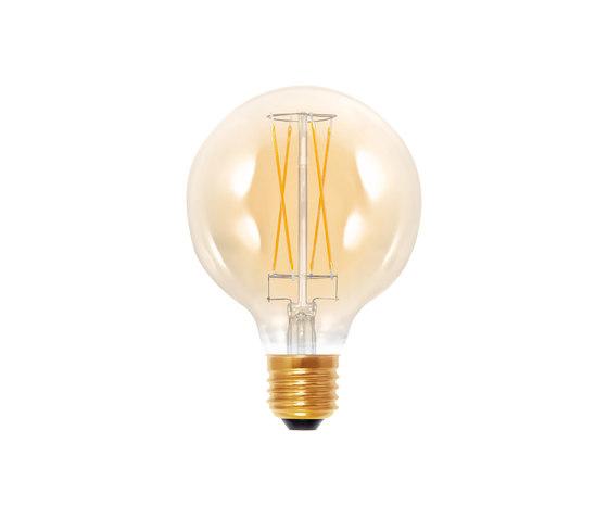 LED Globe 95 golden by Segula | Light bulbs