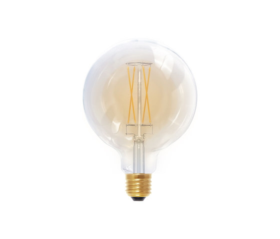 LED Globe 125 golden de Segula | Ampoules