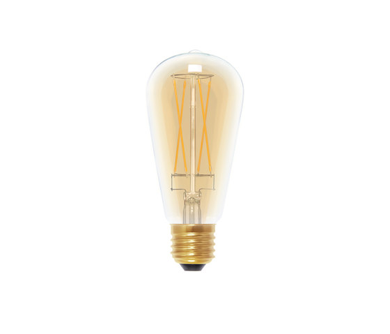LED Rustica Long Style golden by Segula | Light bulbs
