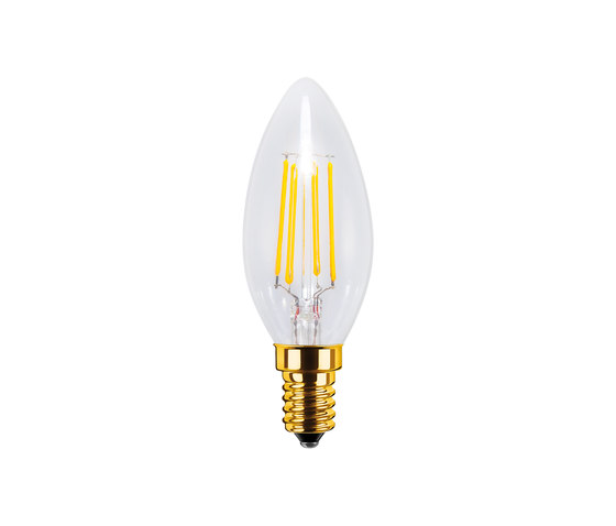 LED Candle clear de Segula | Ampoules