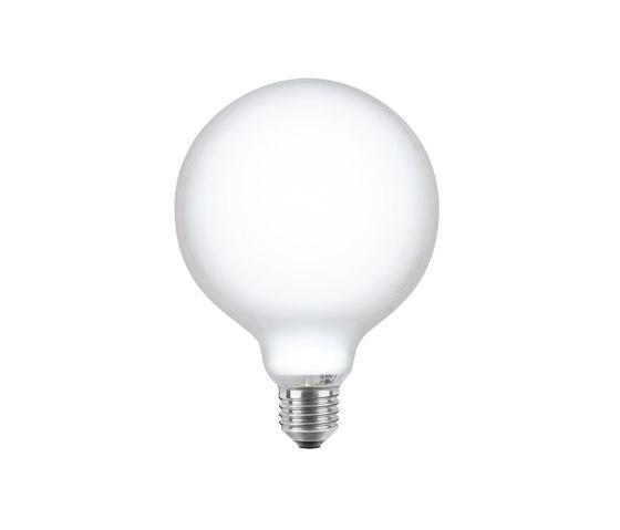 LED Globe 125 opal de Segula | Ampoules