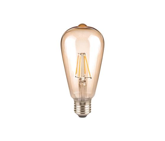 LED Rustica golden de Segula | Ampoules