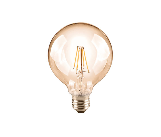 LED Globe 95 golden by Segula | Light bulbs