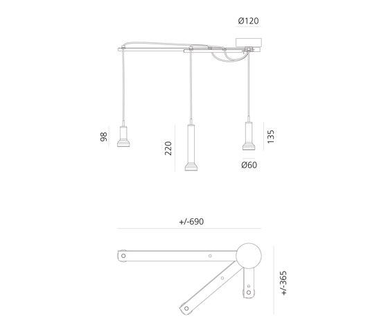 Stablight Smart by Artemide | Suspended lights