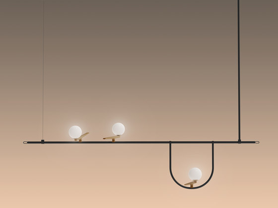 Yanzi Suspension 1,2 by Artemide | Suspended lights