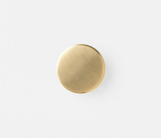 Hook - Brass - Large by ferm LIVING | Single hooks