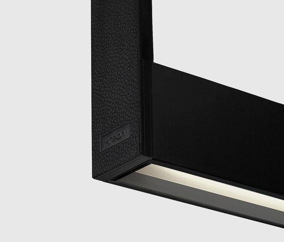 Cadre 1200 linear,  black di Kreon | Lampade sospensione