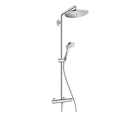 hansgrohe Croma Select 280 Air 1jet Showerpipe EcoSmart 9 l/min by Hansgrohe | Shower controls