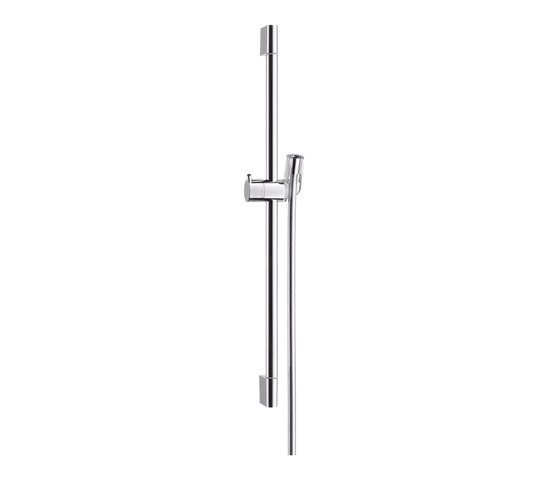 hansgrohe Unica'C wall bar 0.65 m by Hansgrohe | Bathroom taps accessories