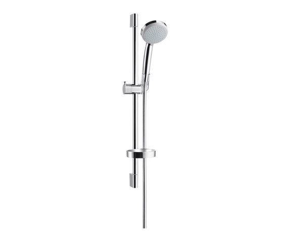 hansgrohe Croma 100 Vario hand shower/ Unica'C wall bar 0.65 m set by Hansgrohe | Shower controls