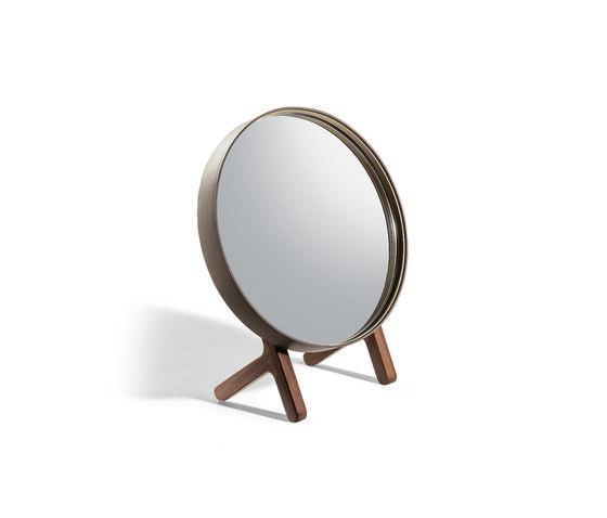 Ren miroir de table de Poltrona Frau | Miroirs