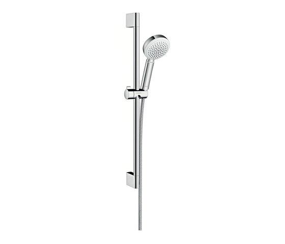 hansgrohe crometta 100 1jet ecosmart 7 l min shower set m shower taps mixers from. Black Bedroom Furniture Sets. Home Design Ideas